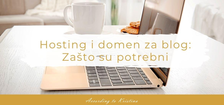 Hosting i domen za blog Zašto su potrebni